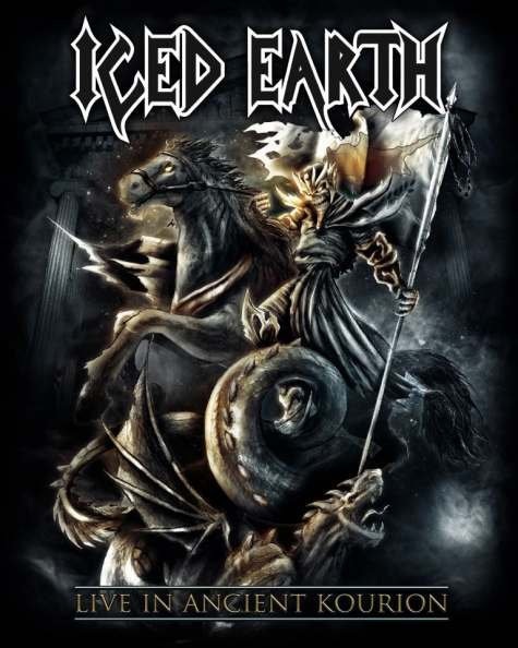 ICED EARTH – LIVE IN ANCIENT KOURION (DVD)