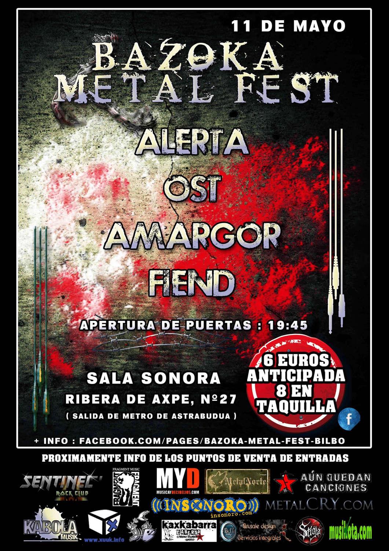 BAZOKA METAL FEST 2013 - PROV2