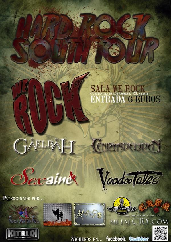 HARD ROCK SOUTH TOUR MADRID