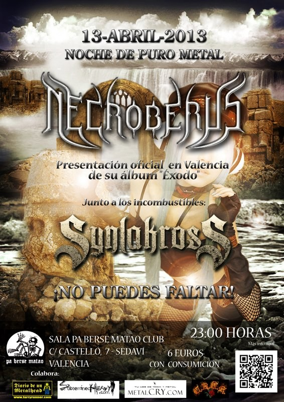 Necroberus_Valencia_13-4-13_Cartel