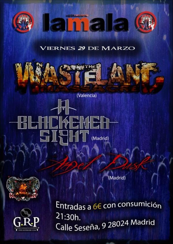 TheWastelandMassacre_Madrid_29-3-13_Cartel_2