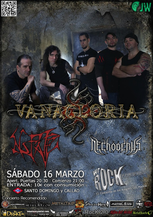 VANAGLORIA WE ROCK