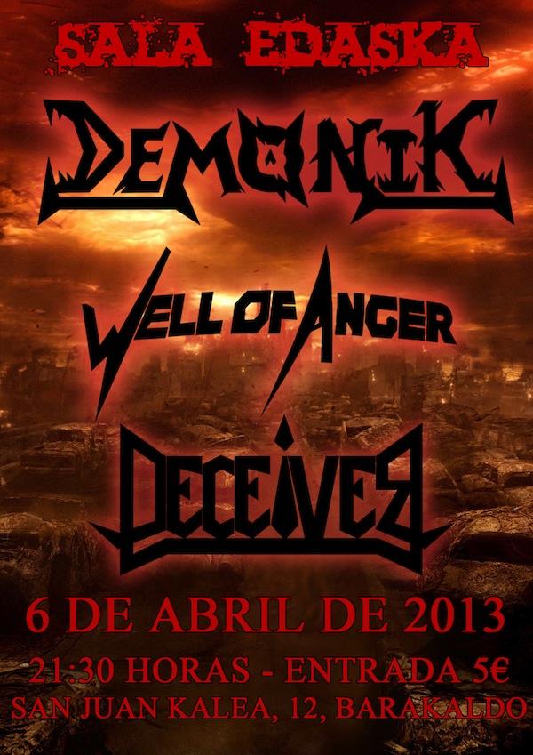 demonik Cartel Barakaldo 6-4-2013