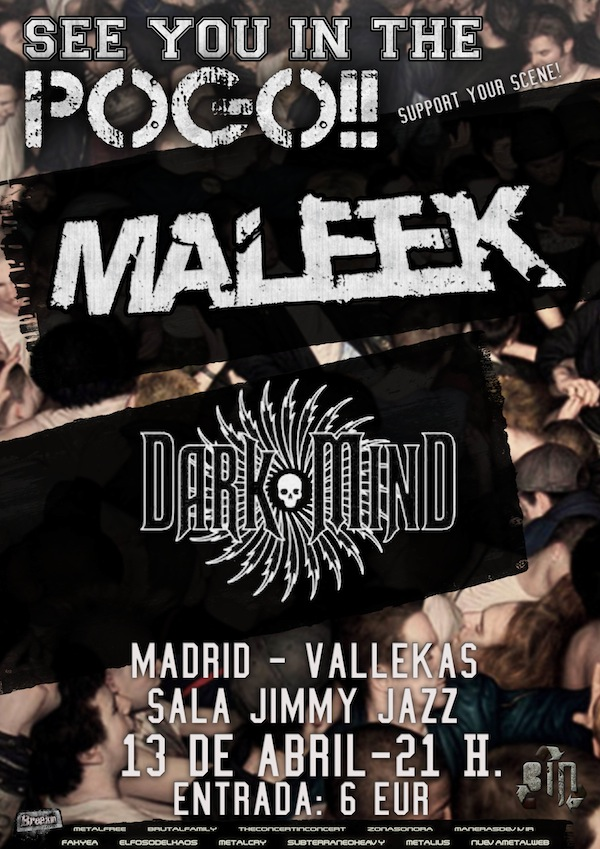 Maleek (JimmyJazz, Madrid)