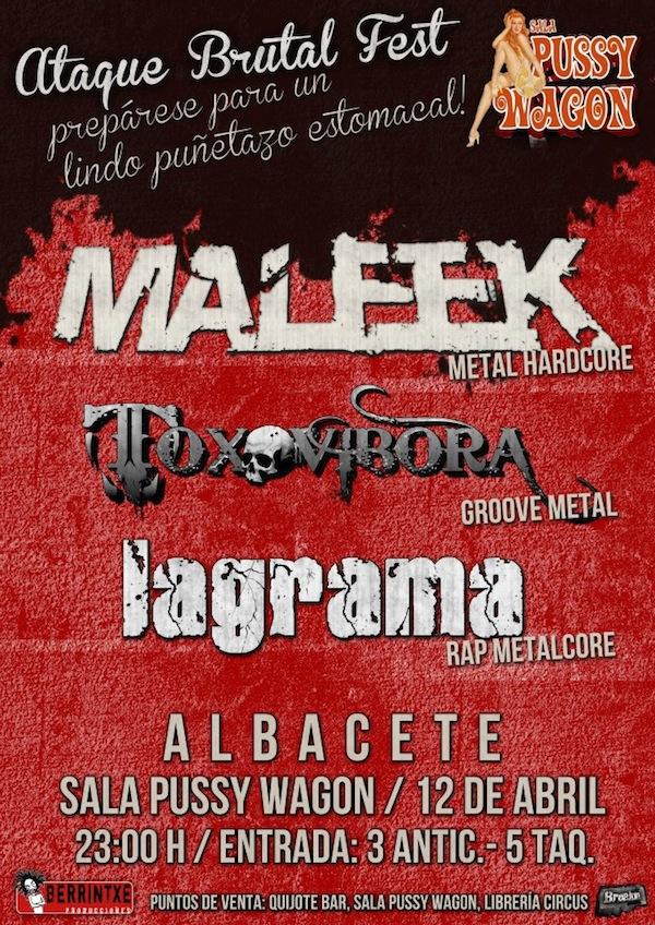 Maleek ( Sala Pussy Wagon, Albacete)