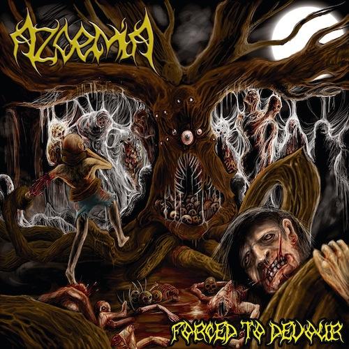 azoemia forced to devour