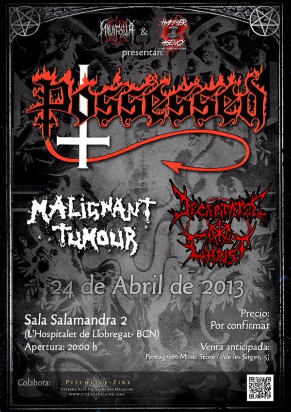 Possessed_Barcelona_24-4-13_Cartel