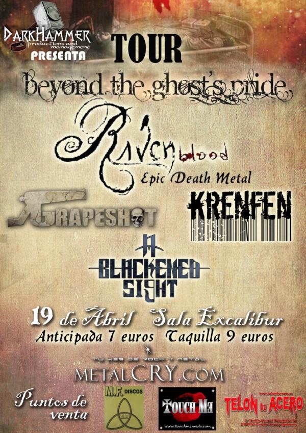 Ravenblood_Madrid_19-4-13_Carteldef