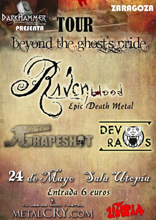 cartel Raven-Zaragoza copia