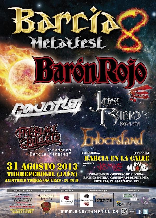 CARTEL BARCIA METALFEST 13