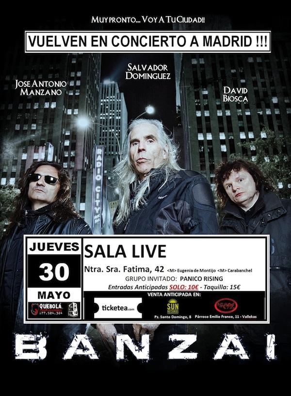 BANZAI Cartel Sala Live