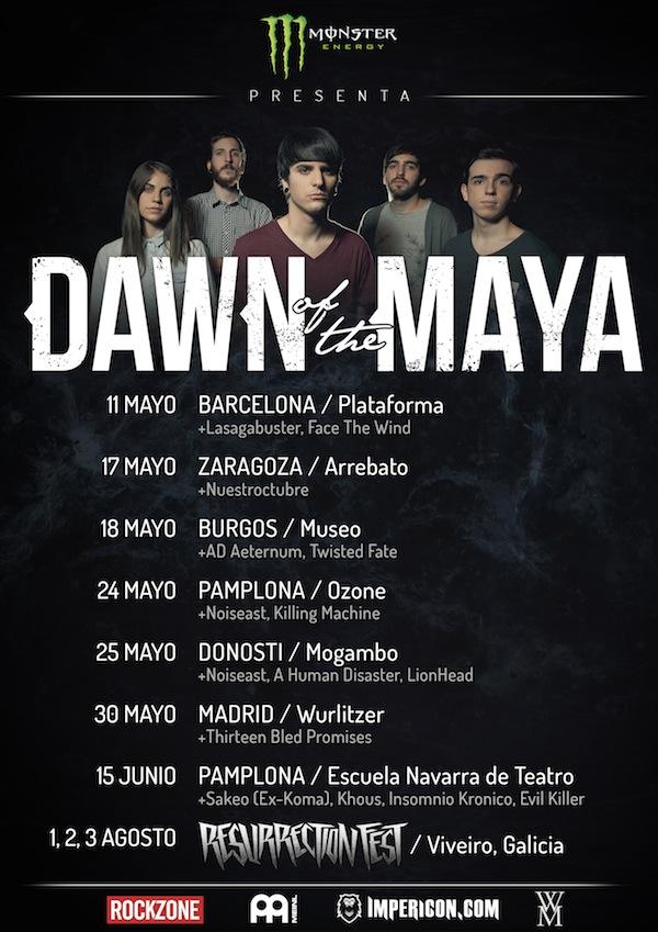 dawn of the maya gira 2013