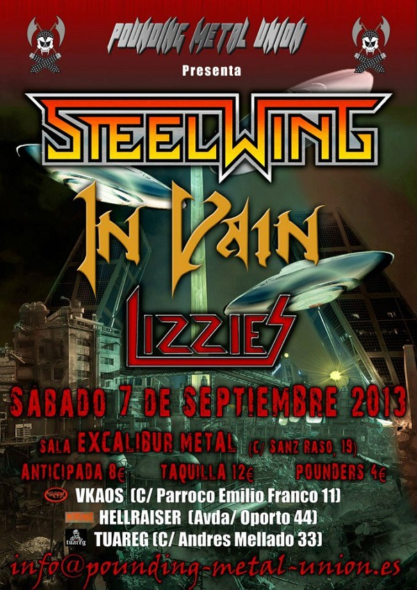 Steelwing_Madrid_7-9-13_Cartel