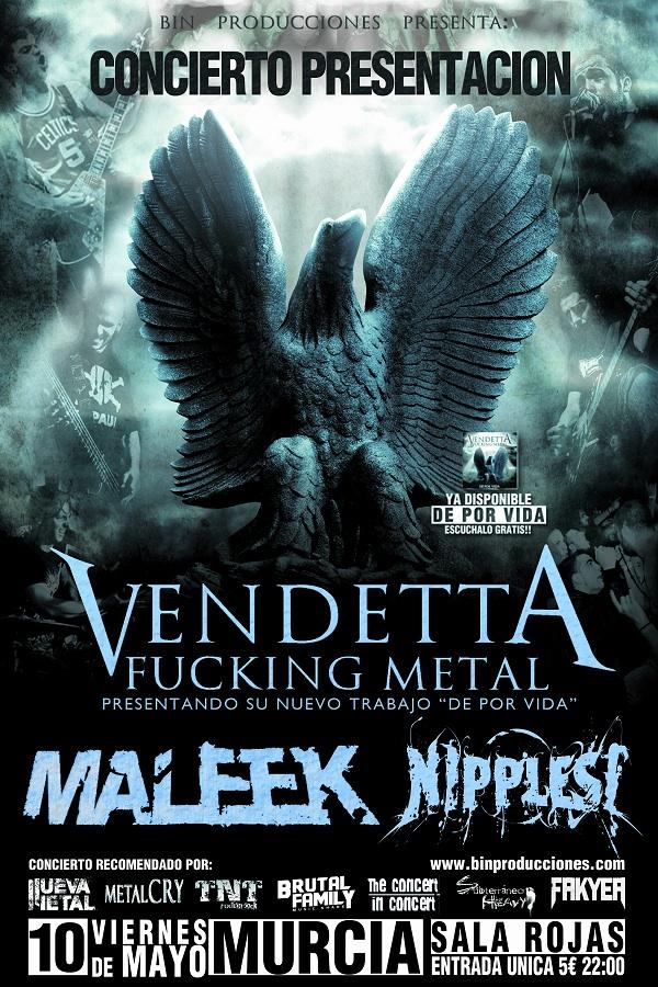 Vendetta Fucking Metal (Sala Rojas, Murcia, DPV)