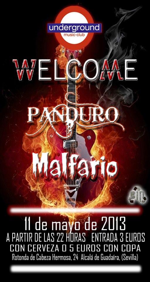 Welcome (Sala Underground, Sevilla)