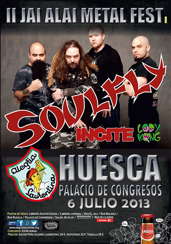 SOULFLY - INCITE - HUESCA