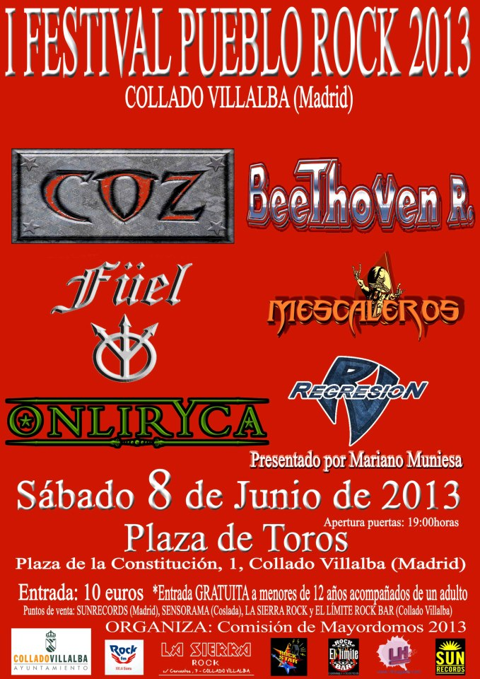 i festival pueblo rock villalba