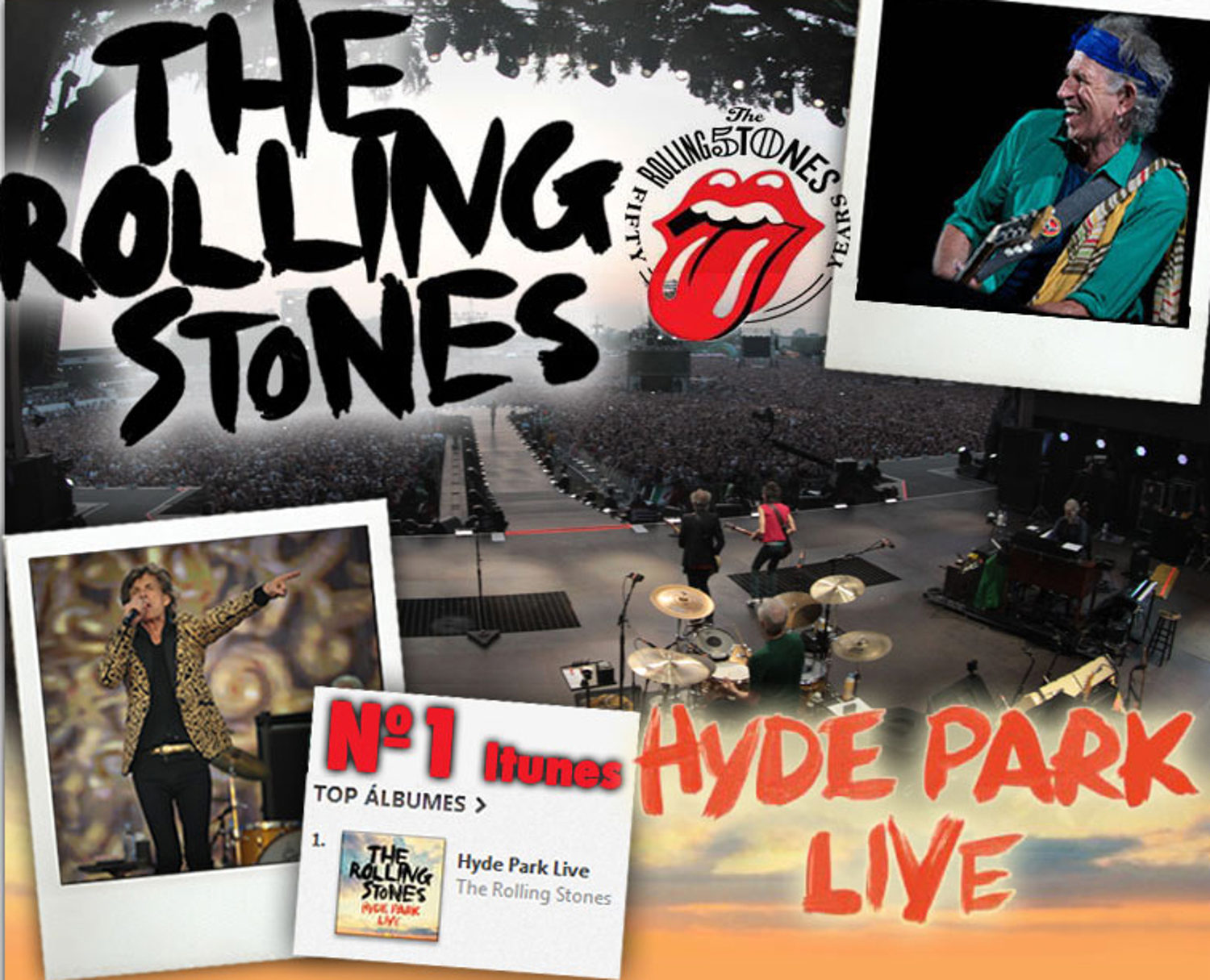 THE ROLLING HYDE PARK LIVE