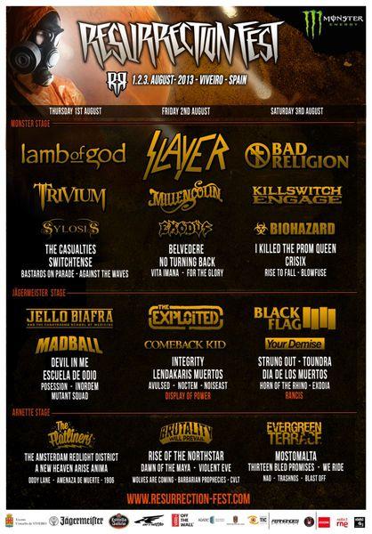 Resurrection Fest 2013 - Final