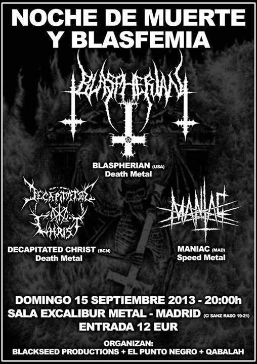NocheDeMuerteYBlasfemia_Madrid_15-9-13_Cartel