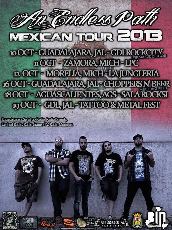 An Endless Path - Mexican Tour