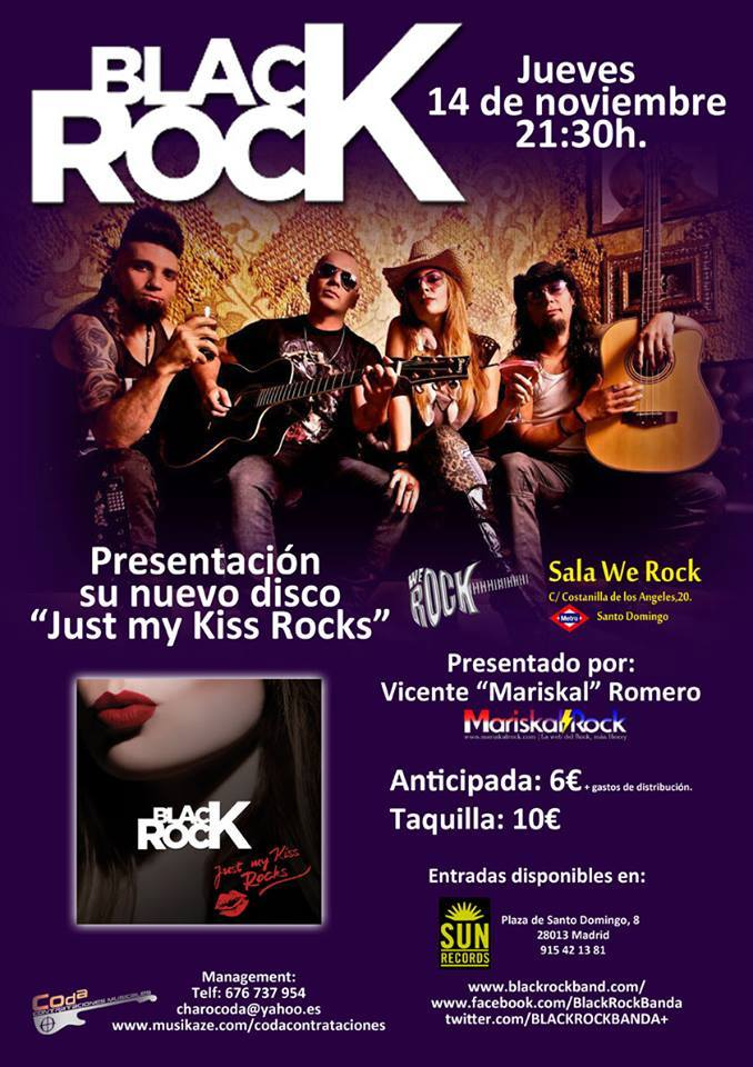 BLACK ROCK CARTEL PRESENTACION WE ROCK