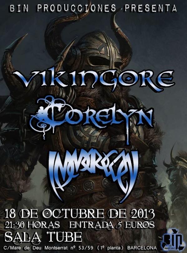 Vikingore (Sala Tube, Barcelona)