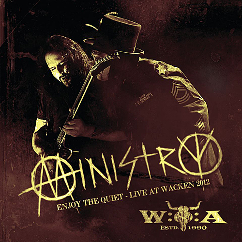 MINISTRY – ENJOY THE QUIET: LIVE AT WACKEN 2012