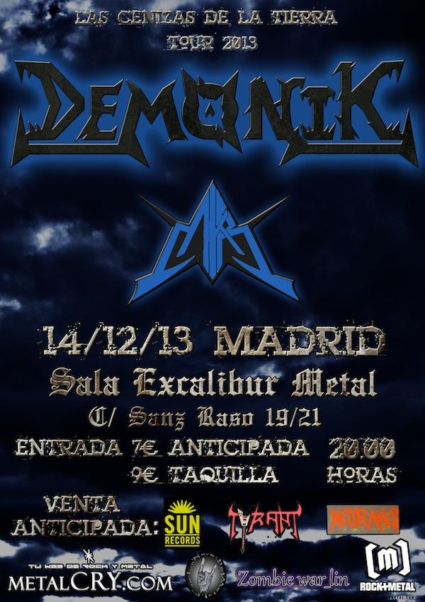 cartel madrid 14-12-2013 demonik