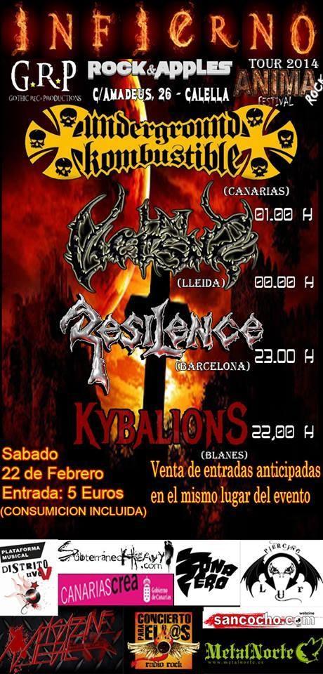 INFIERNO TOUR(CALELLA B.C.N)