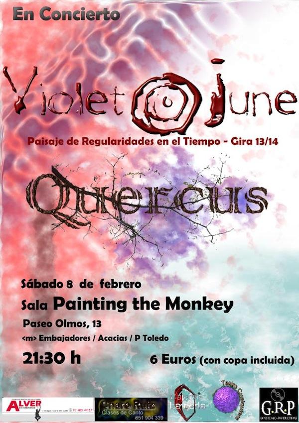 VIOLET JUNE+QUERCUS