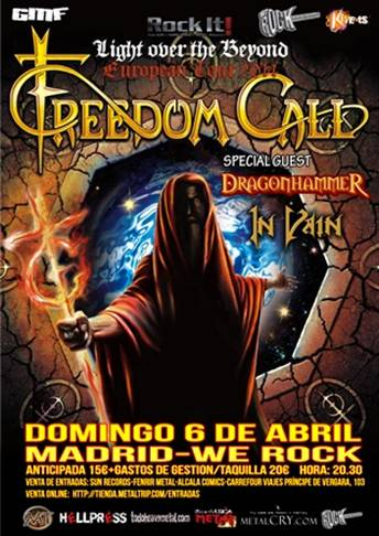 FREEDOM CALL MADRID