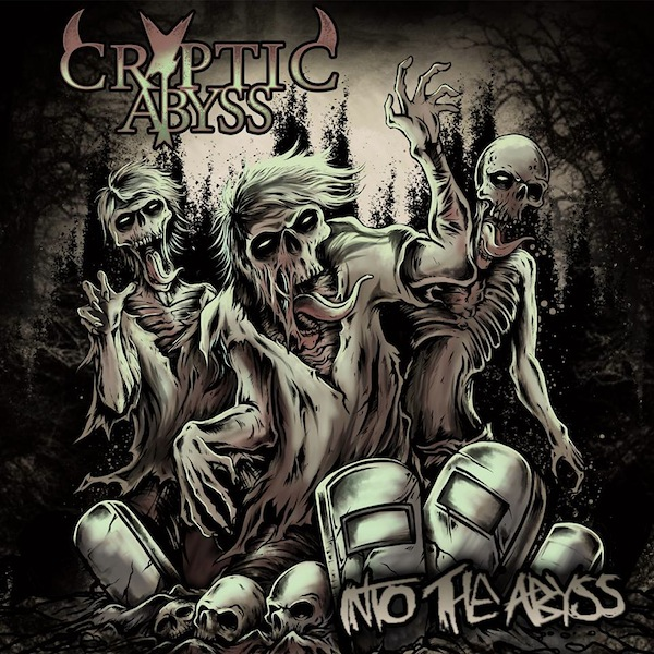 Cryptic Abyss - Into The Abyss cover art 2014