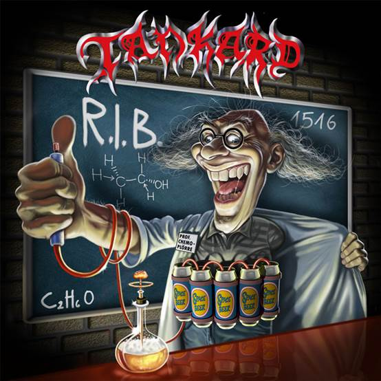 TANKARD – REST IN BEER