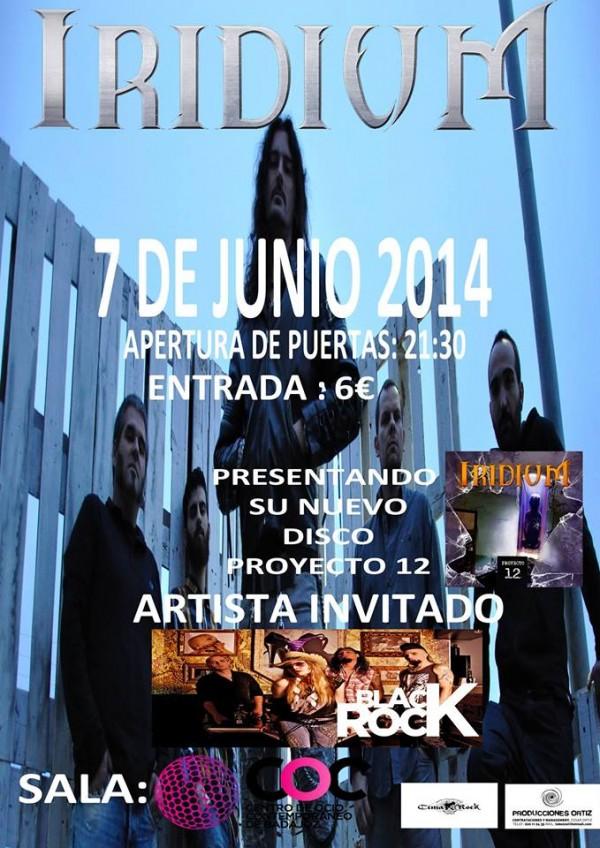 Iridium_Badajoz_7-6-14_Cartel