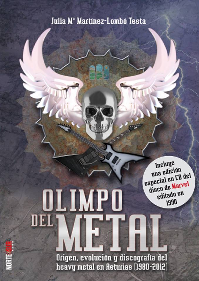 Olimpo del Metal, portada