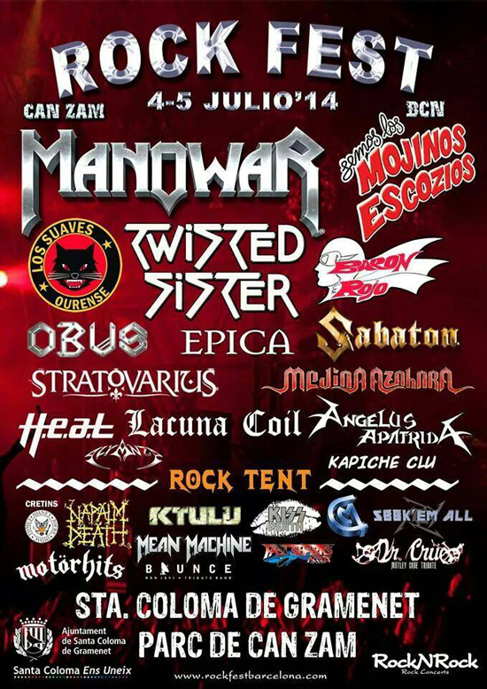 Rock Fest BCN Cartel