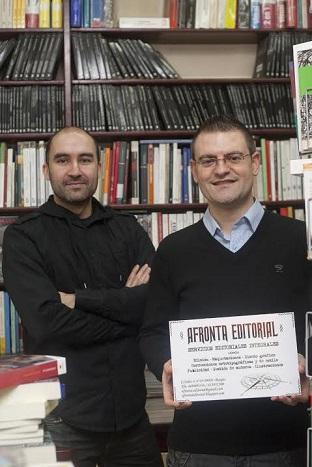 Daniel Ortega acaba de montar una editorial    -Afronta Editorial-.
