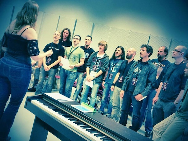 epic rock choir ayreon