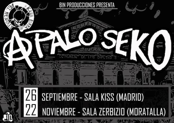 A Palo Seko (Madrid y Murcia)