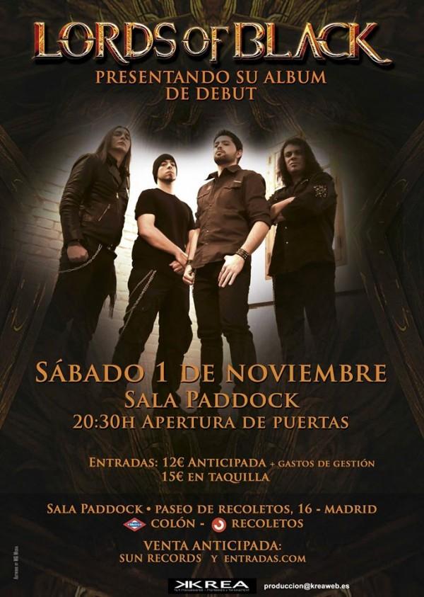 LordsOfBlack_Madrid_1-11-14_Cartel