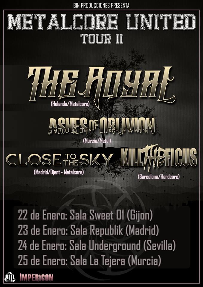 The Royal - Spanish Tour