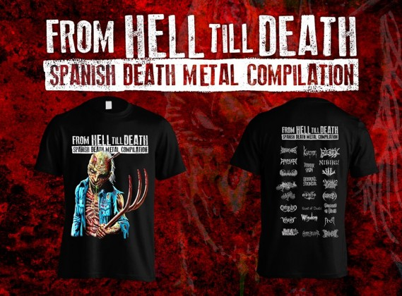 FROMHELLCOMPILATIONTSHIRT