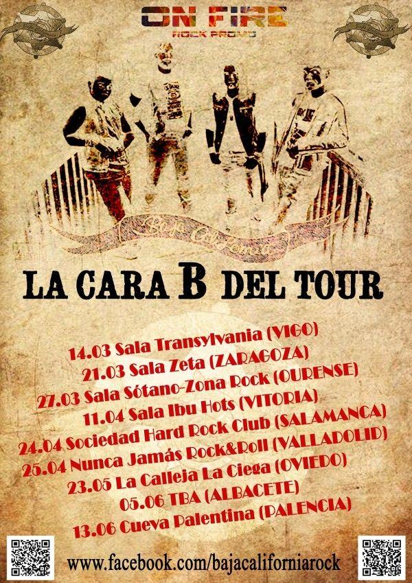 Cartel de Gira Baja California copia