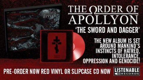 The order of Apollyon - The sword and the dagger merch
