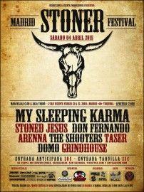 cartel Madrid Stoner Festival 2015