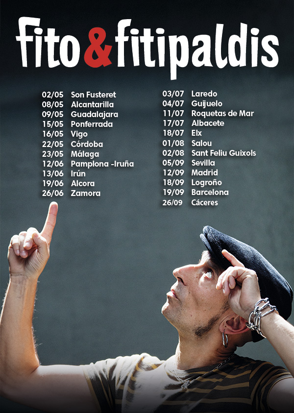 Fito Fitipaldis Comienza Su Nuevo Tour Metalcrycom