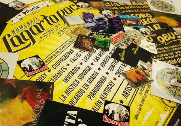 Contrapartidas homenaje lagarto rock