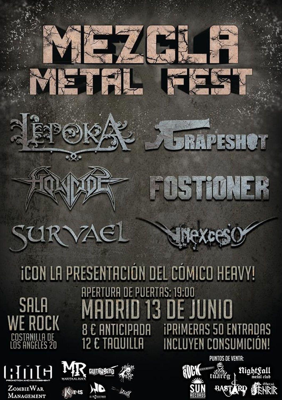 Mezcla Metal Festtodo
