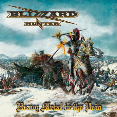 Cover BLIZZARD HUNTER_ Heavy Metal To The Vein